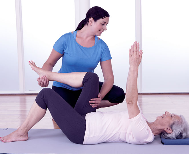 Rachel Luxon Pilates one-to-one sessions